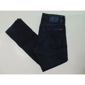 7FAMK 7 For All Mankind 31 The Straight Blue Jeans